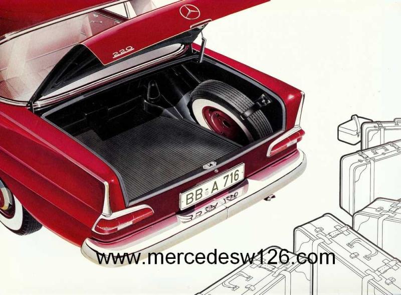 Catalogue de 1959 sur la Mercedes W110 220 220_1919