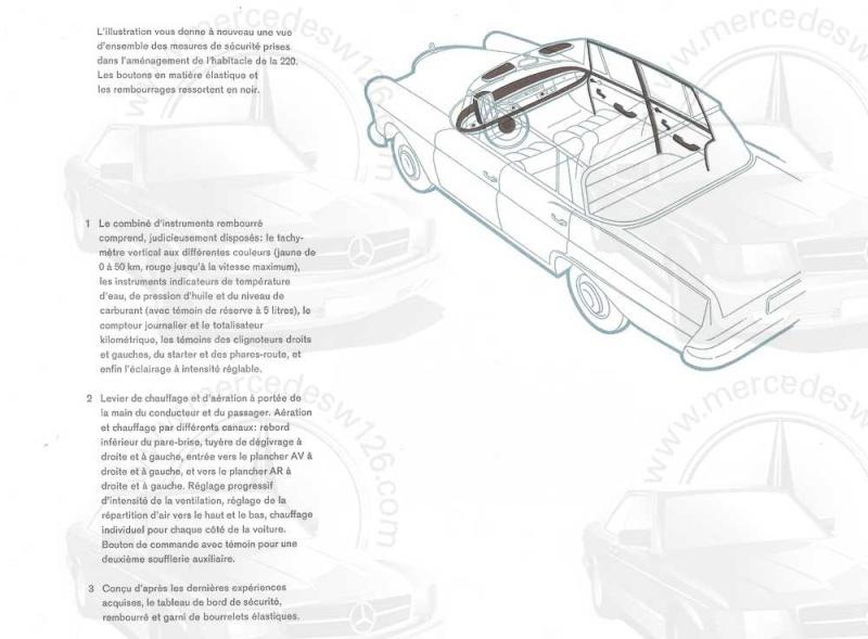 Catalogue de 1959 sur la Mercedes W110 220 220_1925