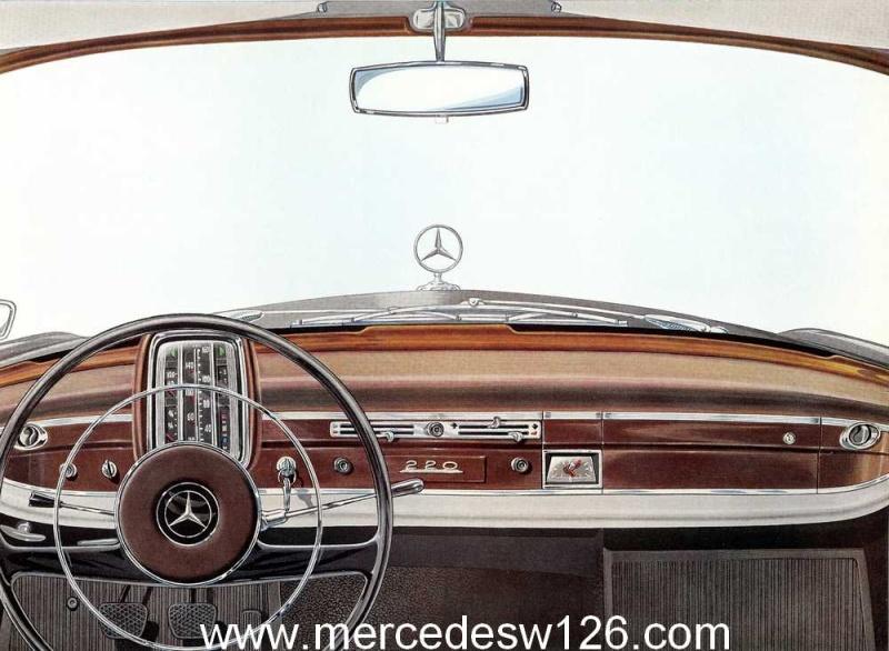 Catalogue de 1959 sur la Mercedes W110 220 220_1926