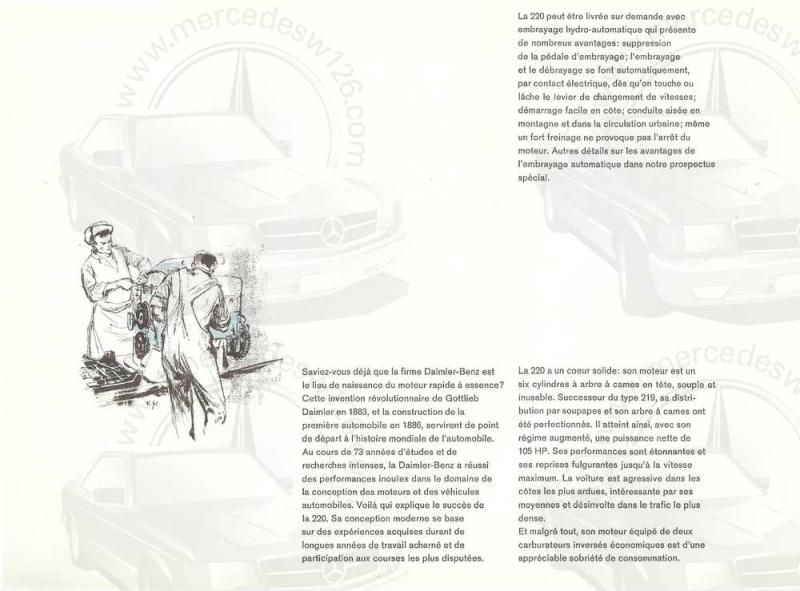 Catalogue de 1959 sur la Mercedes W110 220 220_1927