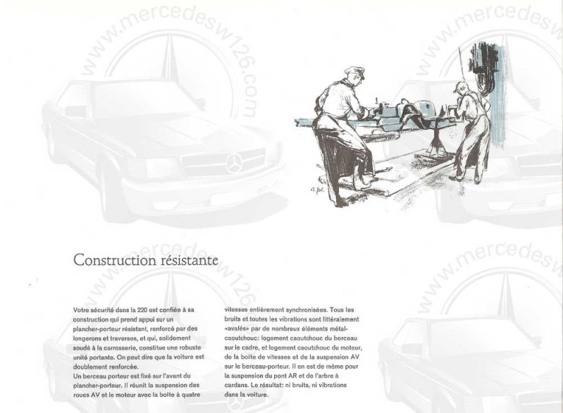 Catalogue de 1959 sur la Mercedes W110 220 220_1929