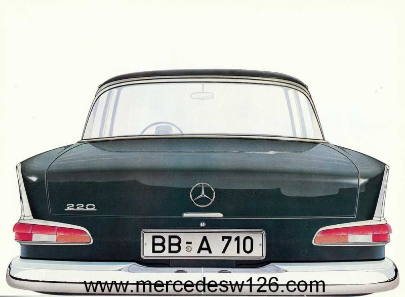 Catalogue de 1959 sur la Mercedes W110 220 220_1935