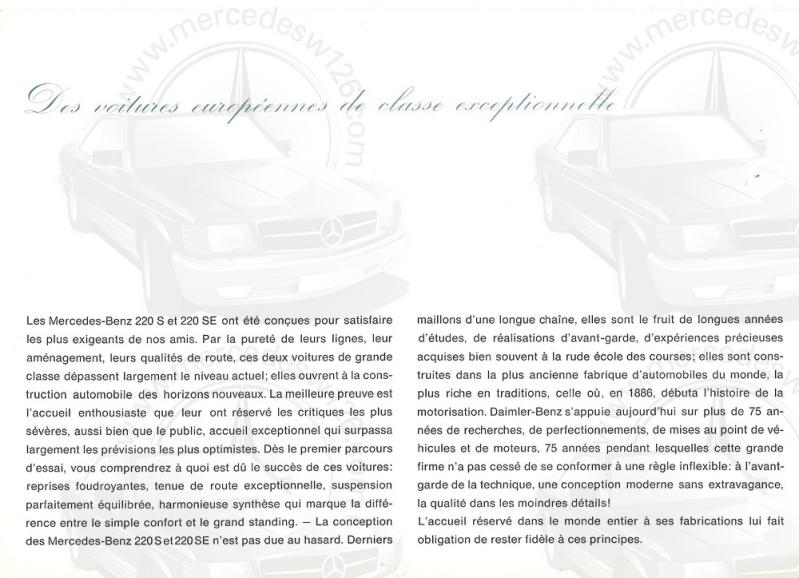 Brochure de 1962 sur les Mercedes W111 220 S & SE 220_1938
