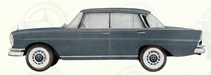 Brochure de 1962 sur les Mercedes W111 220 S & SE 220_1942