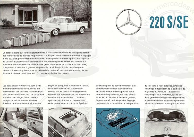 Brochure de 1962 sur les Mercedes W111 220 S & SE 220_1943