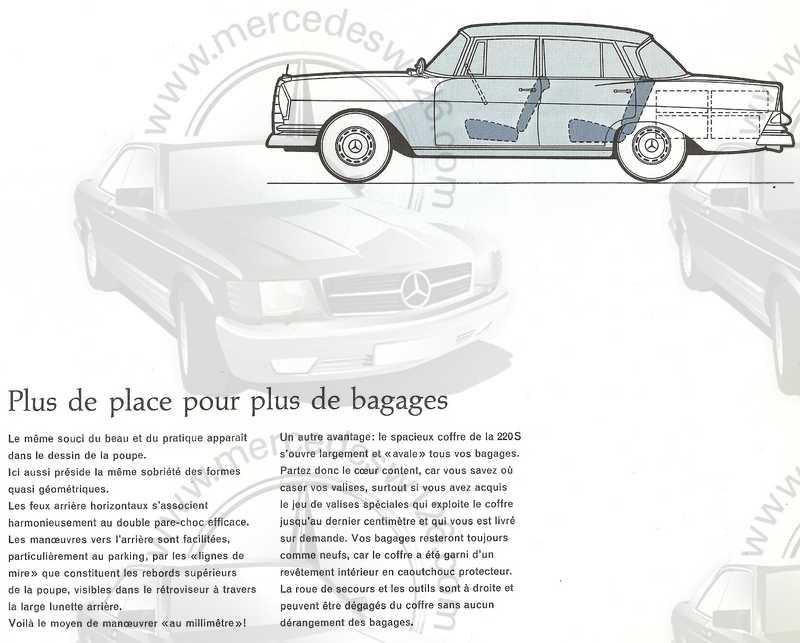 Catalogue de 1960 sur la Mercedes W111 220 S/SE 220_s_15
