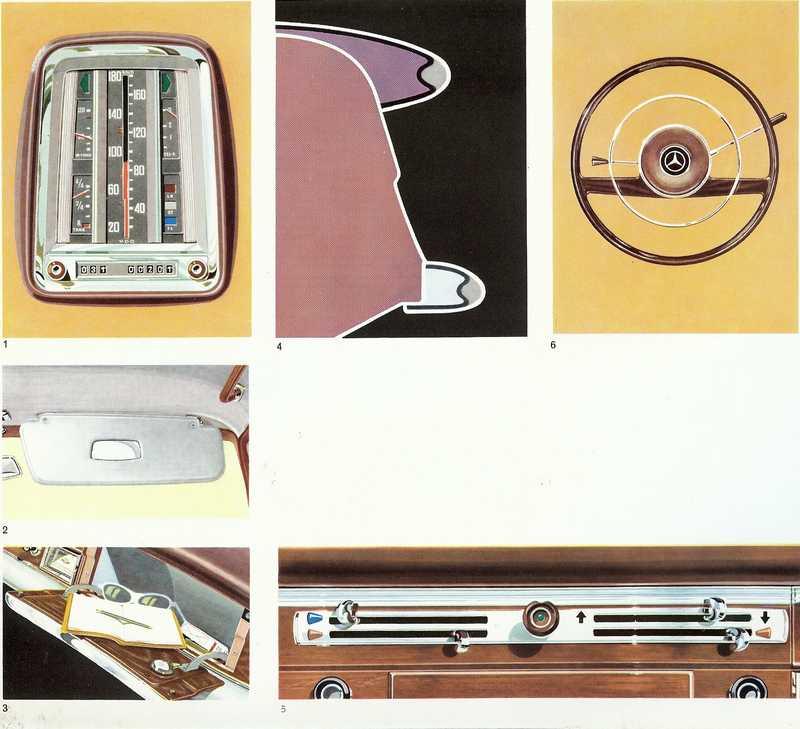 Catalogue de 1960 sur la Mercedes W111 220 S/SE 220_s_25