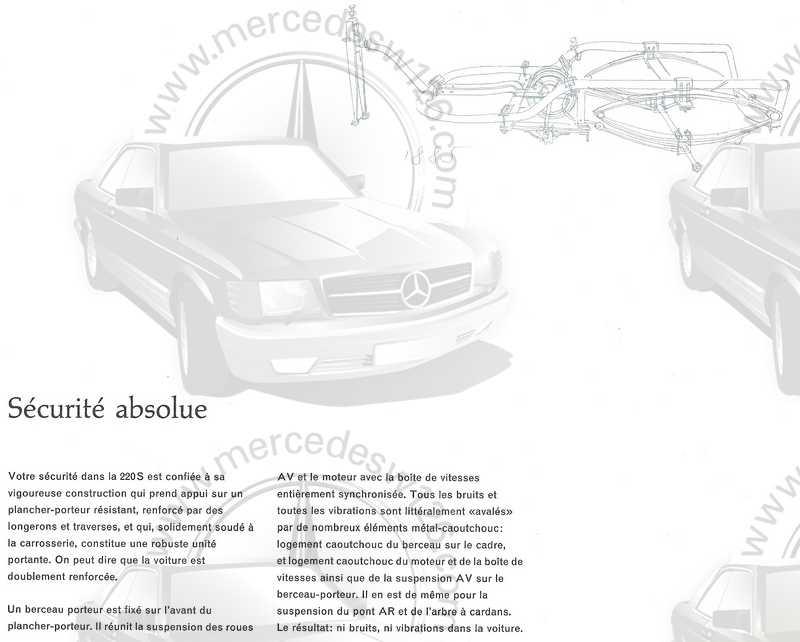 Catalogue de 1960 sur la Mercedes W111 220 S/SE 220_s_27