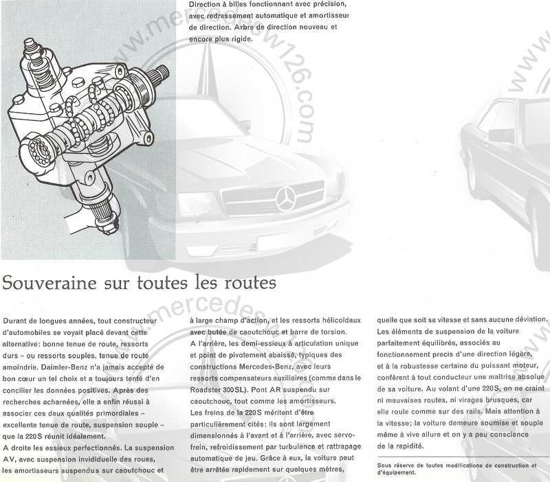Catalogue de 1960 sur la Mercedes W111 220 S/SE 220_s_33