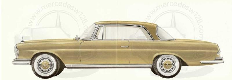 Catalogue de 1961 sur la Mercedes W111 220 SE coupé 220_se10