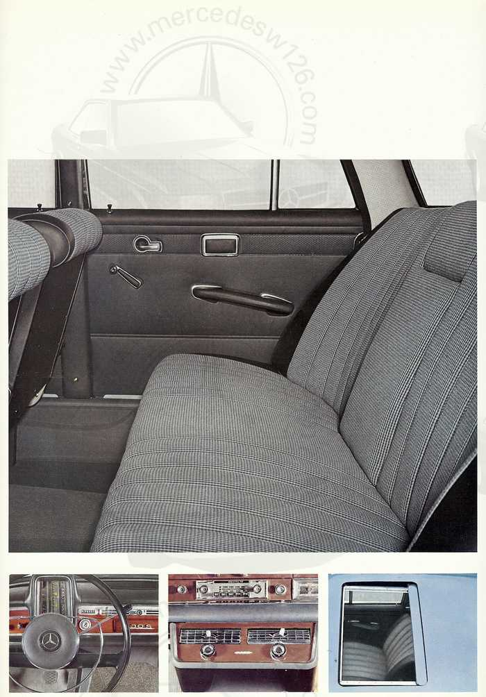 Catalogue de 1967 sur la Mercedes W111 230 S 230_s113