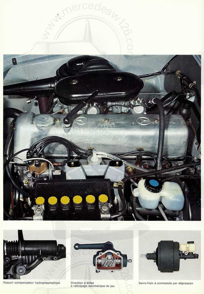 Catalogue de 1967 sur la Mercedes W111 230 S 230_s118