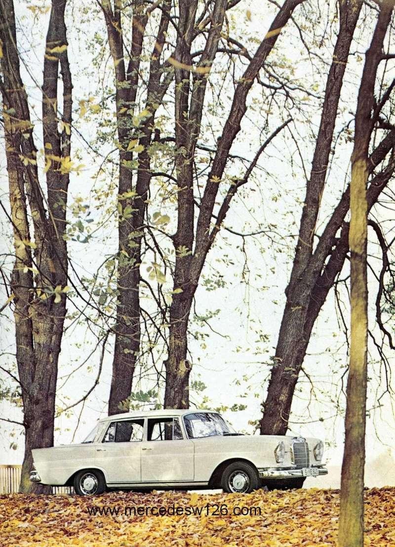 Catalogue de 1967 sur la Mercedes W111 230 S 230_s119
