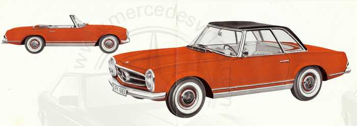 "Catalogue de 1963 sur la Mercedes W113 230 SL ""pagode"" 230_sl11"