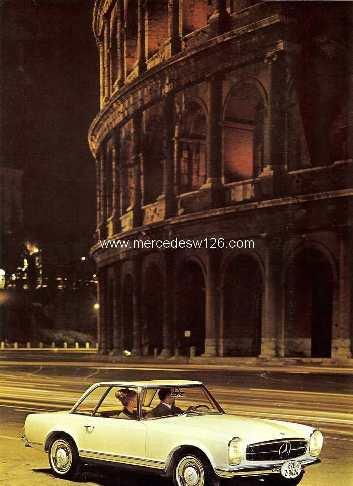 """Catalogue de 1966 sur la Mercedes W113 """"pagode"""" 230 SL 230_sl32"""