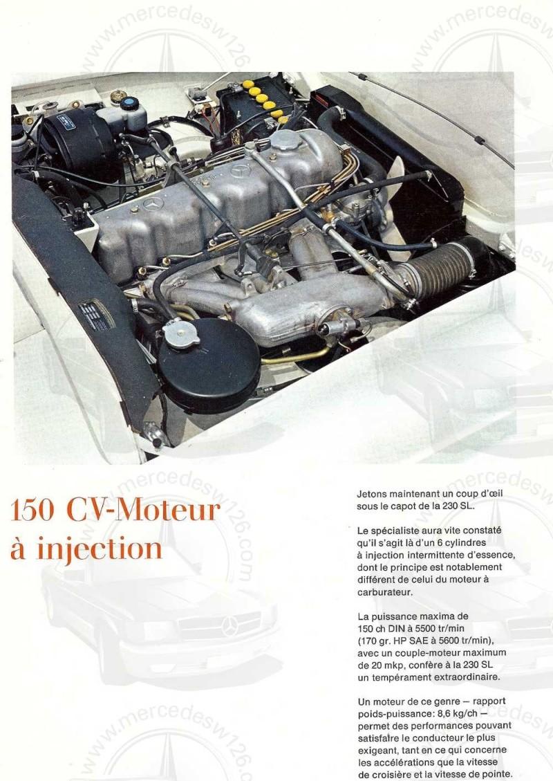 """Catalogue de 1966 sur la Mercedes W113 """"pagode"""" 230 SL 230_sl33"""