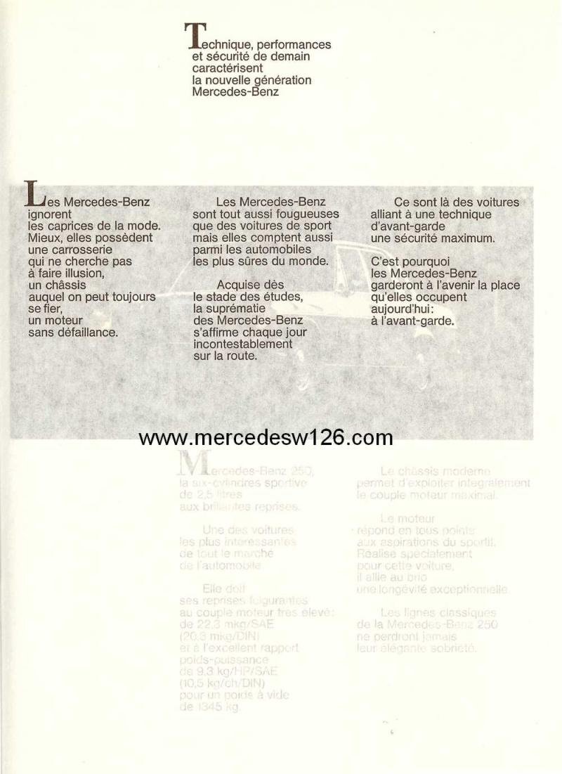 Catalogue de 1968 sur la Mercedes W114 250 (décembre 1968) 250_1910