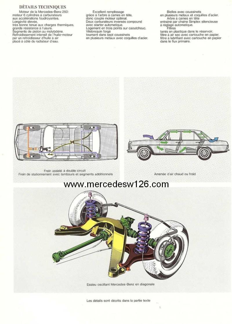 Catalogue de 1968 sur la Mercedes W114 250 (décembre 1968) 250_1917