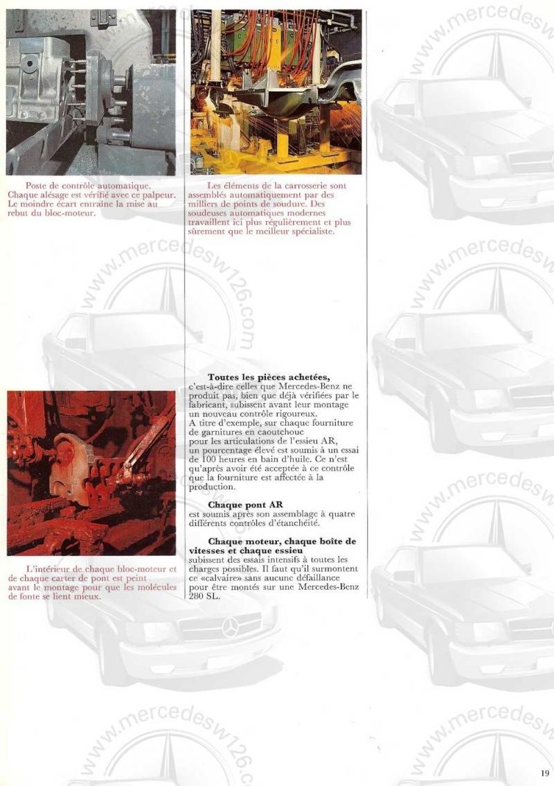 Catalogue de 1970 sur la Mercedes pagode W113 280 SL 280_sl22