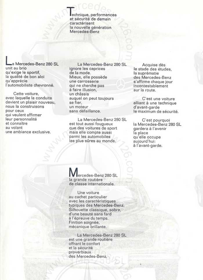 "Catalogue de 1967 sur la W113 280 SL ""pagode"" 280_sl34"