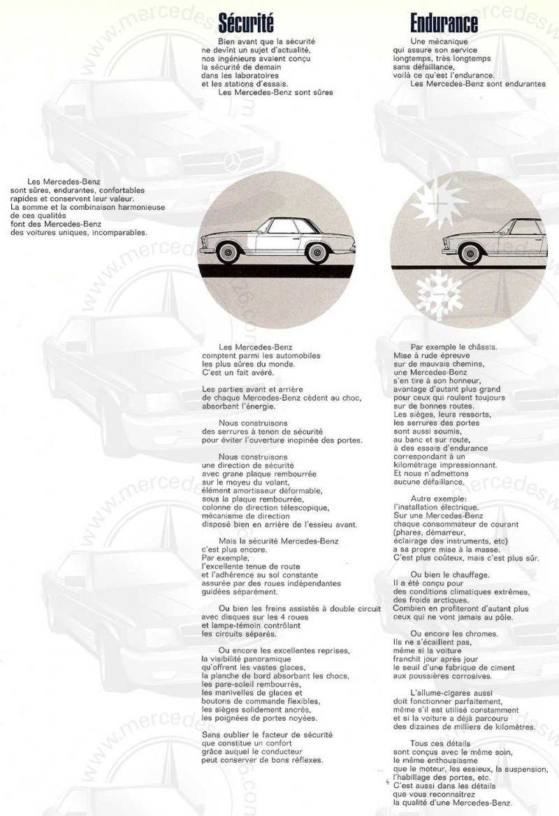 "Catalogue de 1967 sur la W113 280 SL ""pagode"" 280_sl37"