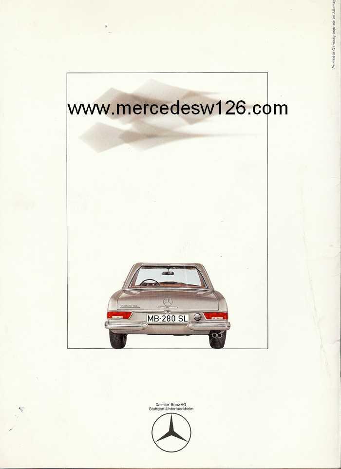"Catalogue de 1967 sur la W113 280 SL ""pagode"" 280_sl41"