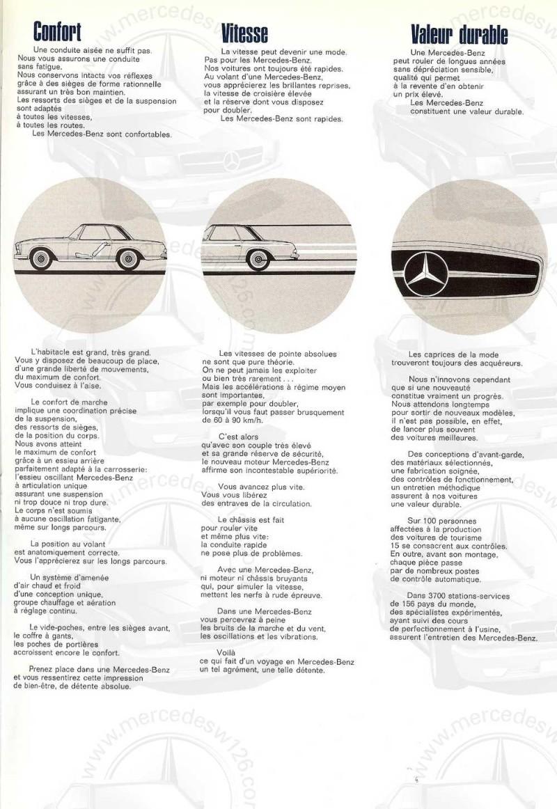 "Catalogue de 1967 sur la W113 280 SL ""pagode"" 280_sl42"