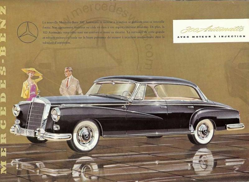 """Catalogue de 1957 sur la Mercedes W189 """"300 automatic"""" 300_au10"""