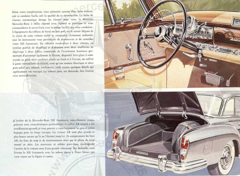"""Catalogue de 1957 sur la Mercedes W189 """"300 automatic"""" 300_au12"""