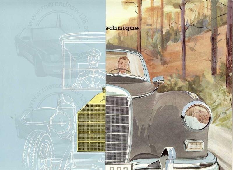 """Catalogue de 1960 sur la Mercedes W189 """"300 automatic"""" 300_pa11"""