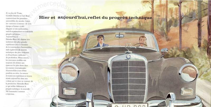 """Catalogue de 1960 sur la Mercedes W189 """"300 automatic"""" 300_pa12"""