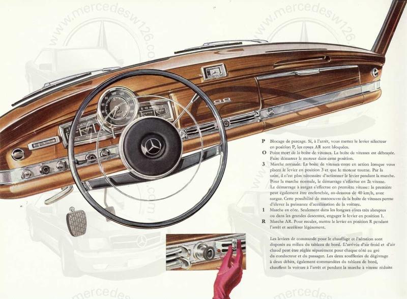 """Catalogue de 1960 sur la Mercedes W189 """"300 automatic"""" 300_pa16"""