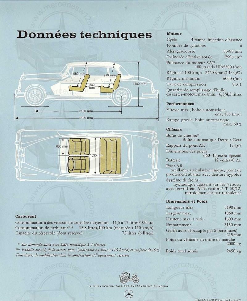 """Catalogue de 1960 sur la Mercedes W189 """"300 automatic"""" 300_pa23"""