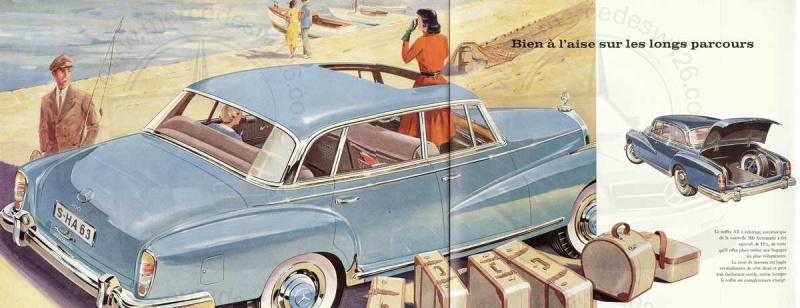 """Catalogue de 1960 sur la Mercedes W189 """"300 automatic"""" 300_pa36"""