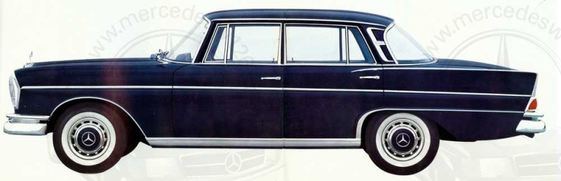 Catalogue de 1962 sur la Mercedes W112 300 SE 300_se12