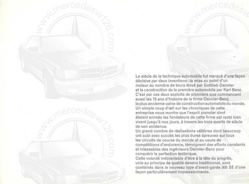 Catalogue de 1962 sur la Mercedes W112 300 SE 300_se13