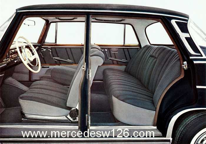 Catalogue de 1962 sur la Mercedes W112 300 SE 300_se15
