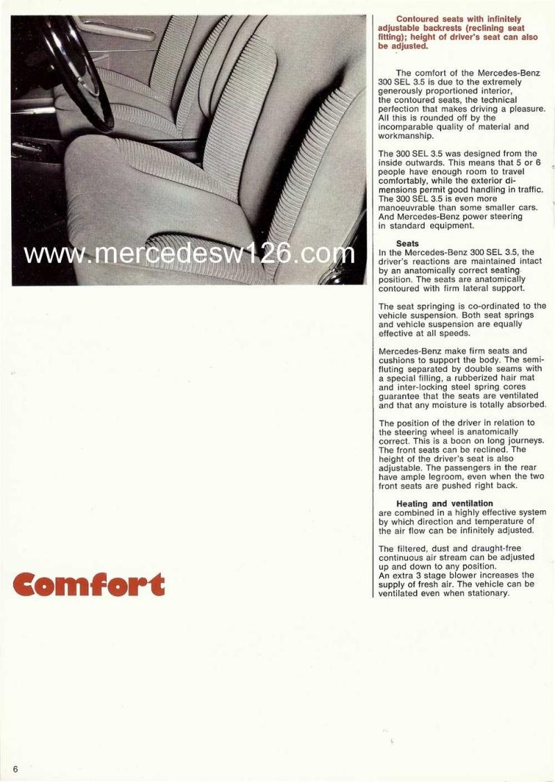 Catalogue de 1969 sur la Mercedes W109 300 SEL 3.5 (décembre) 300_se78