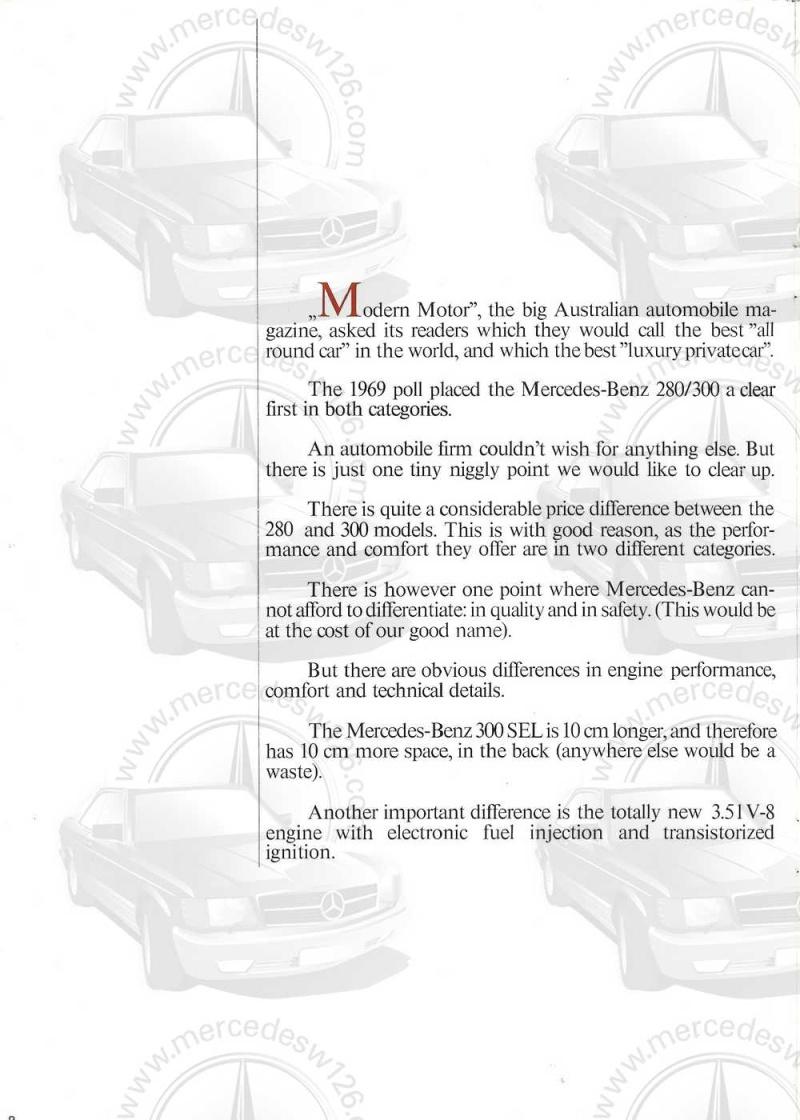 Catalogue de 1969 sur la Mercedes W109 300 SEL 3.5 (décembre) 300_se79