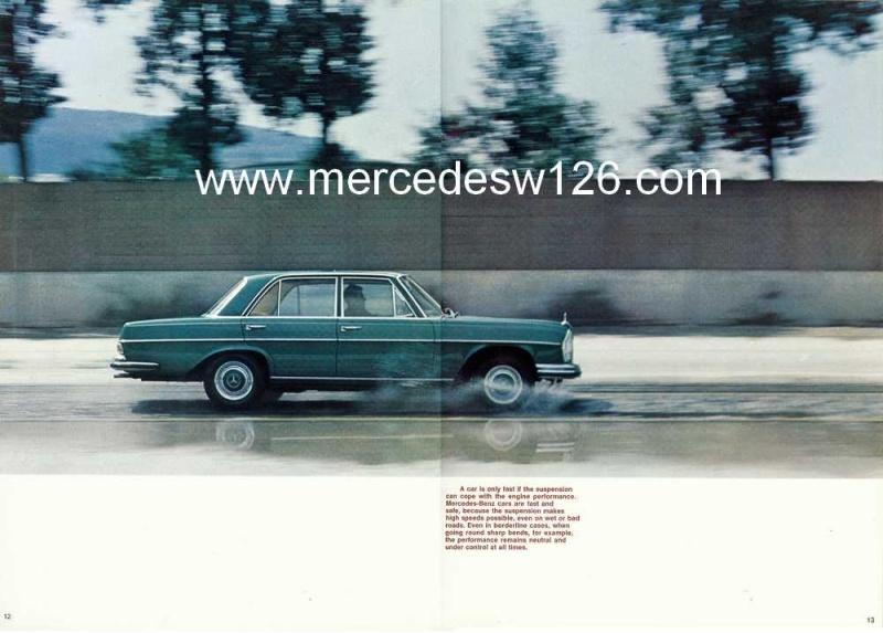 Catalogue de 1969 sur la Mercedes W109 300 SEL 3.5 (décembre) 300_se81