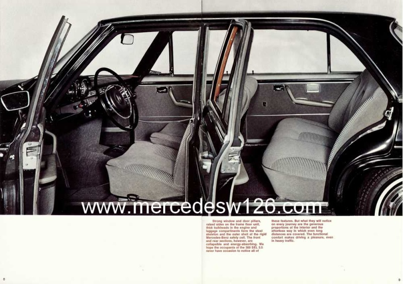 Catalogue de 1969 sur la Mercedes W109 300 SEL 3.5 (décembre) 300_se82