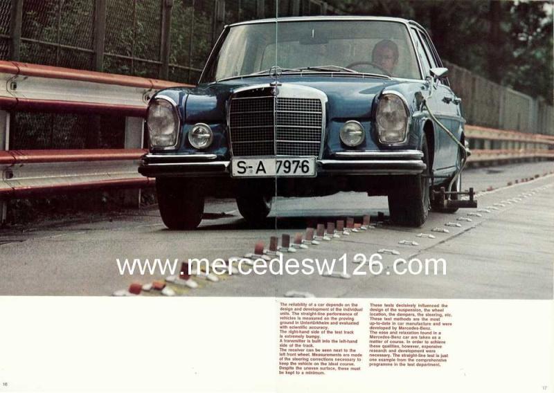 Catalogue de 1969 sur la Mercedes W109 300 SEL 3.5 (décembre) 300_se84