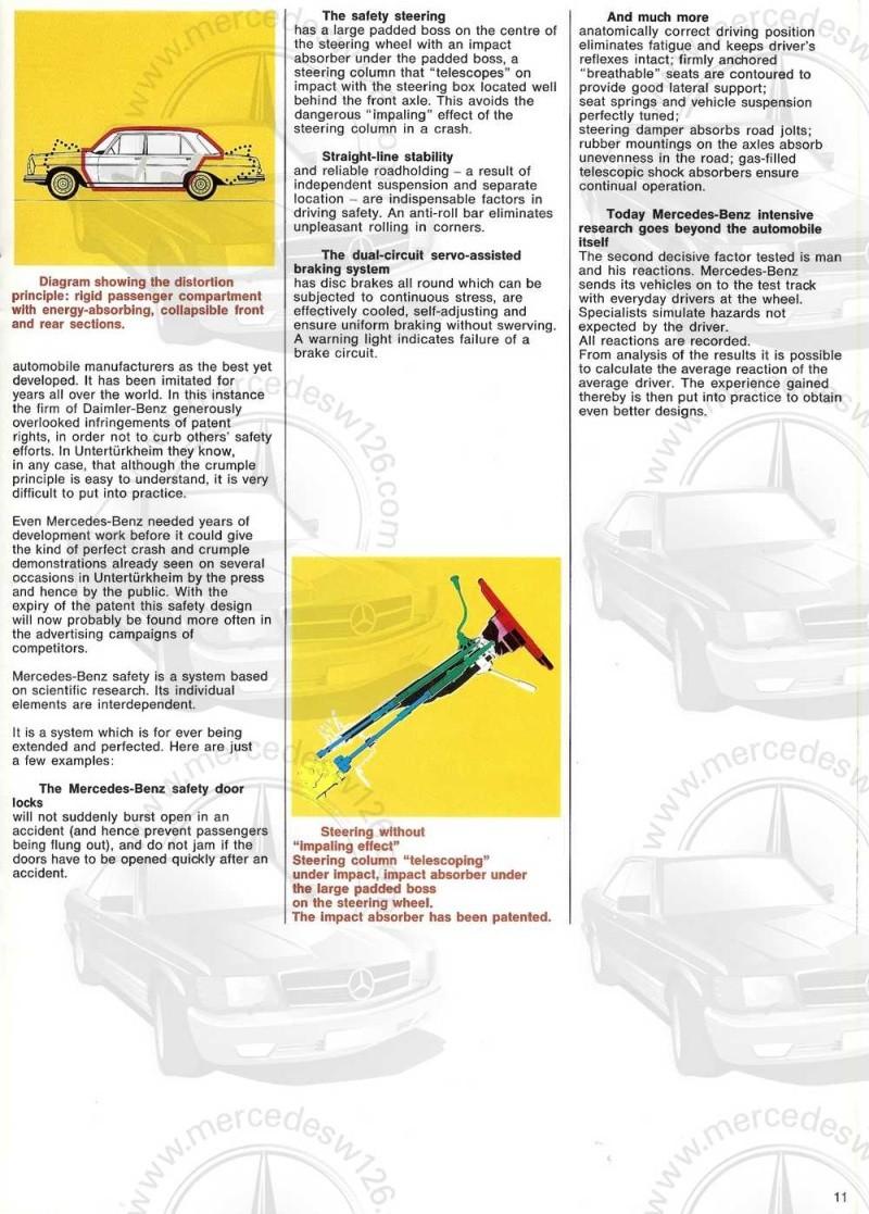 Catalogue de 1969 sur la Mercedes W109 300 SEL 3.5 (décembre) 300_se85