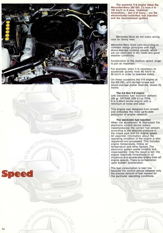 Catalogue de 1969 sur la Mercedes W109 300 SEL 3.5 (décembre) 300_se88