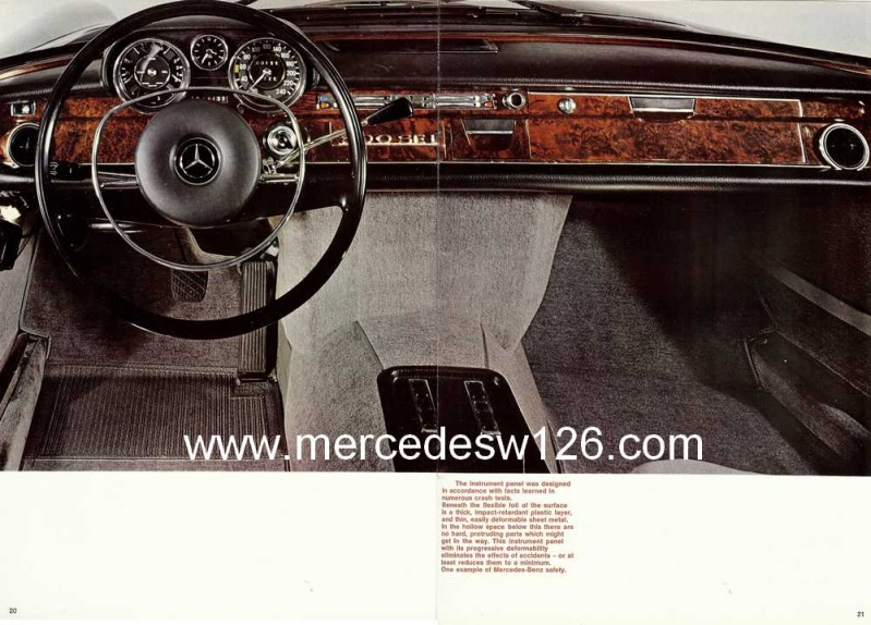 Catalogue de 1969 sur la Mercedes W109 300 SEL 3.5 (décembre) 300_se89