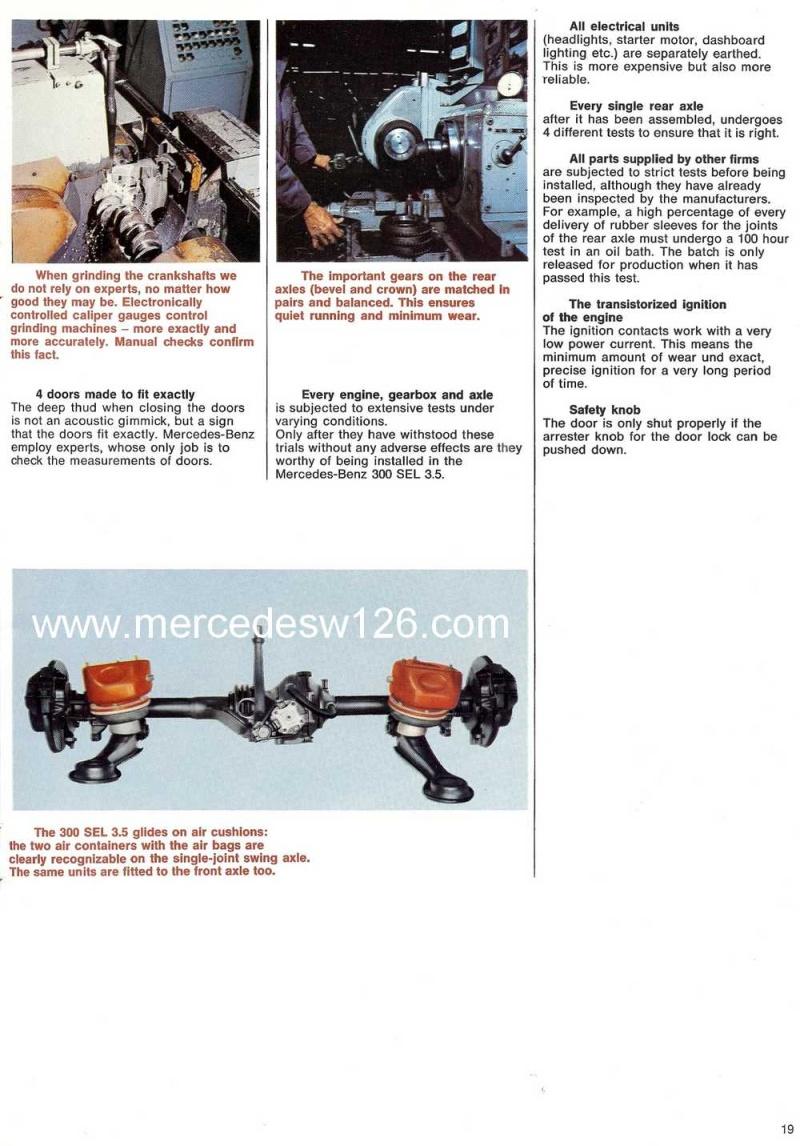 Catalogue de 1969 sur la Mercedes W109 300 SEL 3.5 (décembre) 300_se90