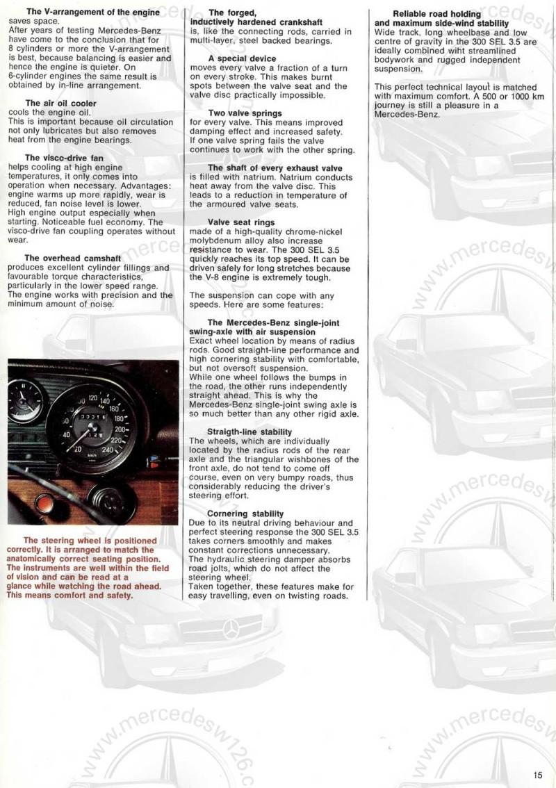 Catalogue de 1969 sur la Mercedes W109 300 SEL 3.5 (décembre) 300_se91