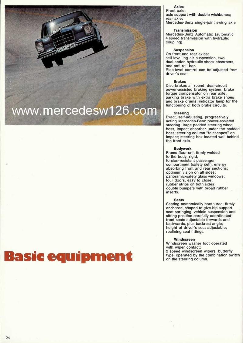 Catalogue de 1969 sur la Mercedes W109 300 SEL 3.5 (décembre) 300_se93