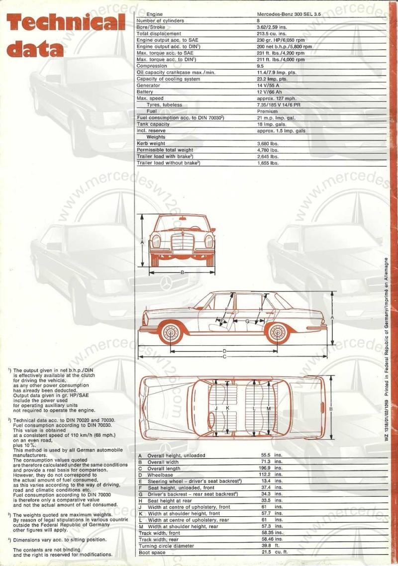 Catalogue de 1969 sur la Mercedes W109 300 SEL 3.5 (décembre) 300_se97