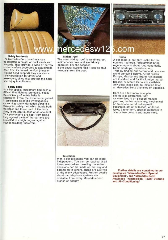 Catalogue de 1969 sur la Mercedes W109 300 SEL 3.5 (décembre) 300_se98